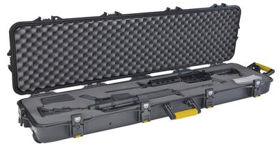 DOUBLE SCOPED SHOTGUN/RIFLE WHEELED CASE