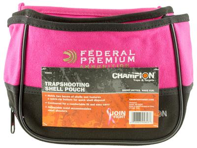SG SHELL POUCH DBL PINK