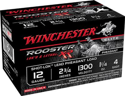 ROOSTER 12GA 3IN 1-1/2OZ 6SHOT 15BX