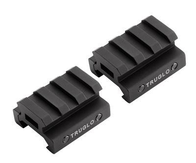 Truglo TG8972B Riser For TruGlo Riser 2-Piece Style Black Finish