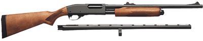 Remington Firearms 25578 870 Express Combo Pump N/A 12 Gauge Blued