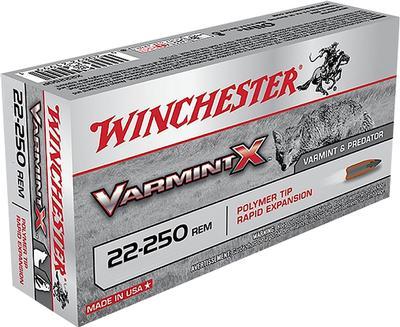 22-250 55GR VARMENT X 40RDS VALUE PACK