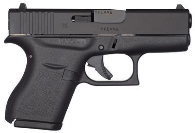 Glock UI4350201 G43 DAO 9mm 3.39
