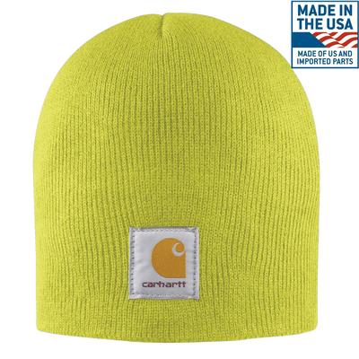 Carhartt Acrylic Knit Hat - Yellow