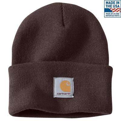 DARK BRN WATCH CAP