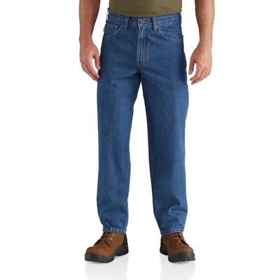 MENS RELAXED FIT TAPERED LEG JEAN