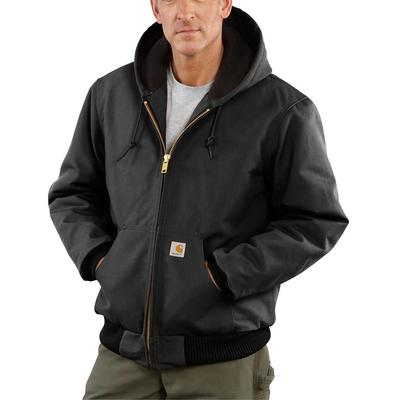 DUCK ACTIVE JACKET QUILTED FLANNEL LINED