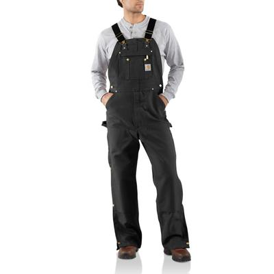 ZIP-TO-THIGH BIB OVERALLS