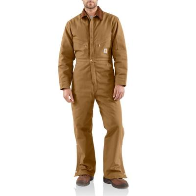 MENS QUILT LINED DUCK COVERALLS