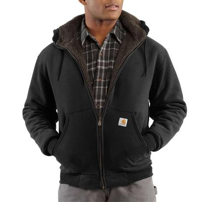 MENS SHERPA LINED FULL ZIP SWTSHRT