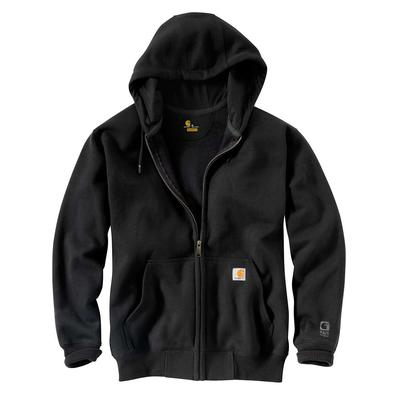 HEAVYWEIGHT HOODED ZIP FRONT SWEATSHIRT