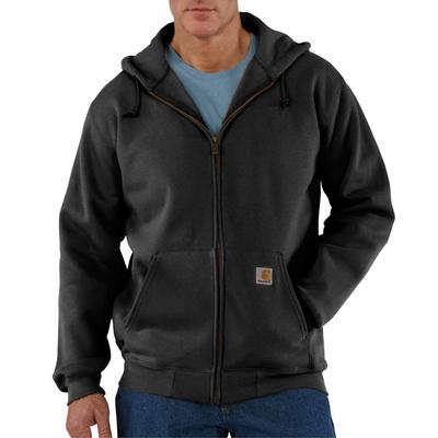 MENS HVYWT HOODED ZIP UP SWEATSHIRT