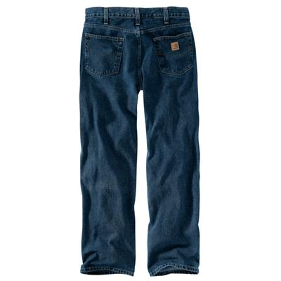 MENS RELAXED FIT STRAIGHT LEG JEAN