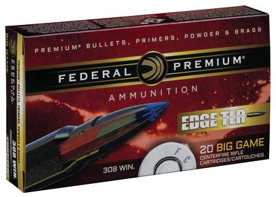 308 WIN 175 GR EDGE TLR 20 RD