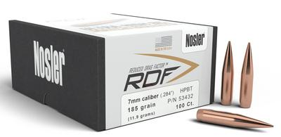 7MM .284 185GR HPBT RDF 100CT