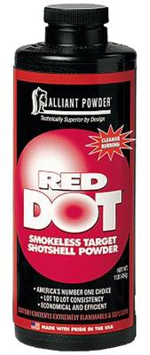 Alliant 150602 Red Dot Smokeless Target Shotgun Powder 1lb 1 Canister