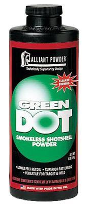 Alliant 150611 Green Dot Smokeless Shotgun Powder 1lb 1 Canister
