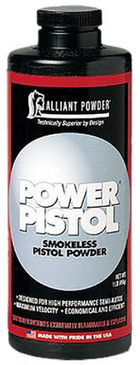 Alliant 150614 Power Pistol Smokeless Powder 1lb 1 Canister