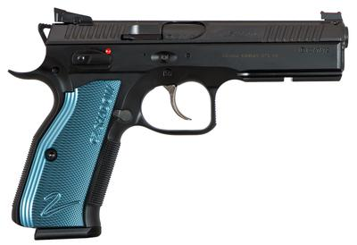 SHADOW 2  BLK/BLUE  3 MAGS    9MM