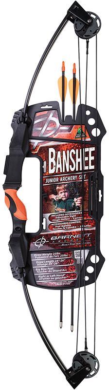 Barnett 1075 Banshee Archery Set Intermediate Banshee Black