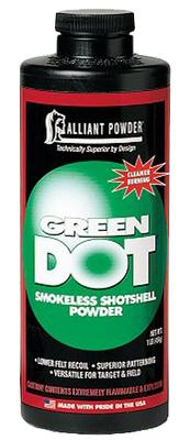 Alliant 150613 Green Dot Smokeless Shotgun Powder 4lbs 1 Canister