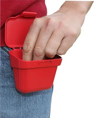 AMMO BELT POUCH RED