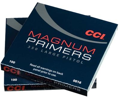 CCI LARGE PISTOL MAGNUM PRIMERS #350 1000CT