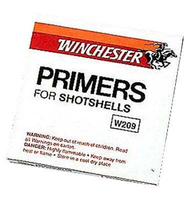 Winchester Ammo W209 209 Shotshell Primer 10 Boxes of 100 Primers