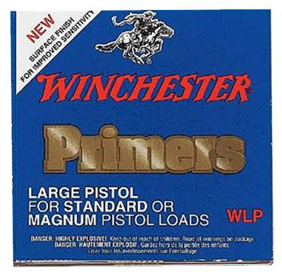 Winchester Ammo WLR 8-1/2 -120 Large Rifle Primer 10 Boxes of 100 Primers