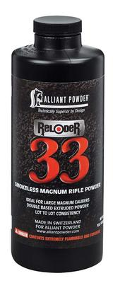 Alliant 150679 Reloder 33 Smokeless Magnum Rifle Powder 1lb 1 Bottle