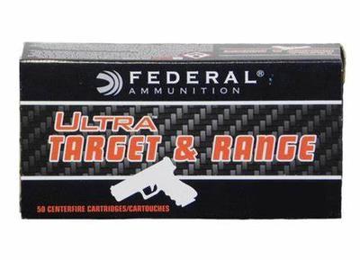 9MM 115GR FMJ 50RD ULTRA TARGET RANGE
