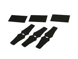 QAD Rest Felt Kit- Black- 3 Pack