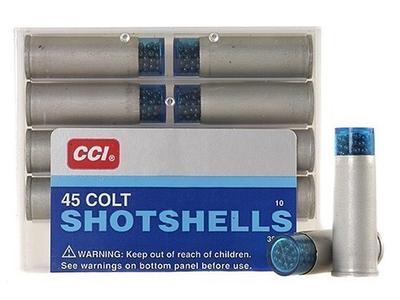 45 COLT SHOTSHELL #9 10 RD