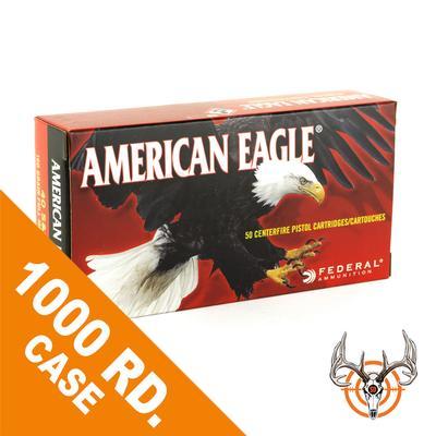 40 S+W 180 GR FMJ 1000 RD AMERICAN EAGLE