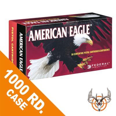 40 S+W 165 GR FMJ 1000 RD AMERICAN EAGLE