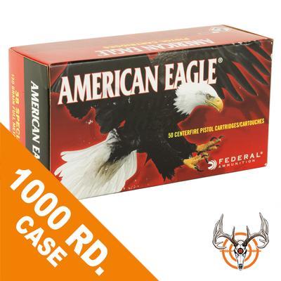 38 SPL 130 GR FMJ 1000RDS AMERICAN EAGLE