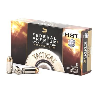 40 S+W 180 GR HP HST TACTICAL 50 RD