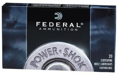 Federal 6AS Power-Shok Soft Point 20RD 80gr 6mm