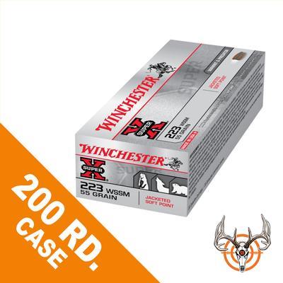 223WSSM 55GR PSP SUPER X 200RD