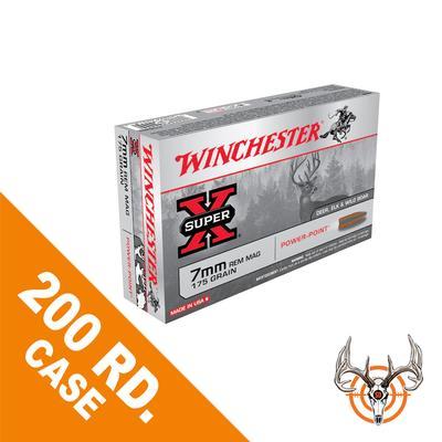 Sportsman's Den   WINCHESTER 7MM REM MAG 175GR PP SUPER-X 200RD