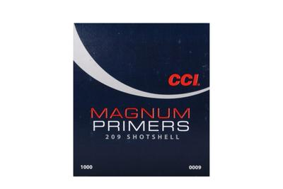 CCI 209 MAGNUM SHOTSHELL PRIMERS 5000CT