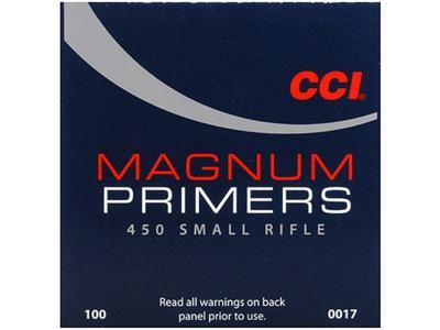 CCI SMALL RIFLE MAGNUM PRIMER
