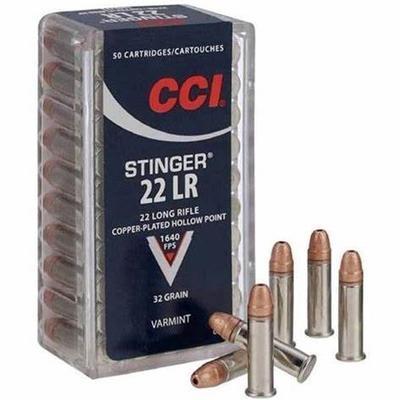 22 LR 32 GR CPHP STINGER 50 RD