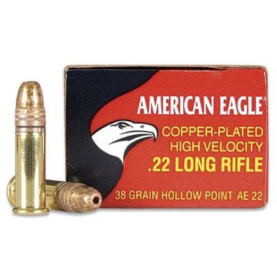 AMERICAN EAGLE 22LR CPHP 38GR 400RND