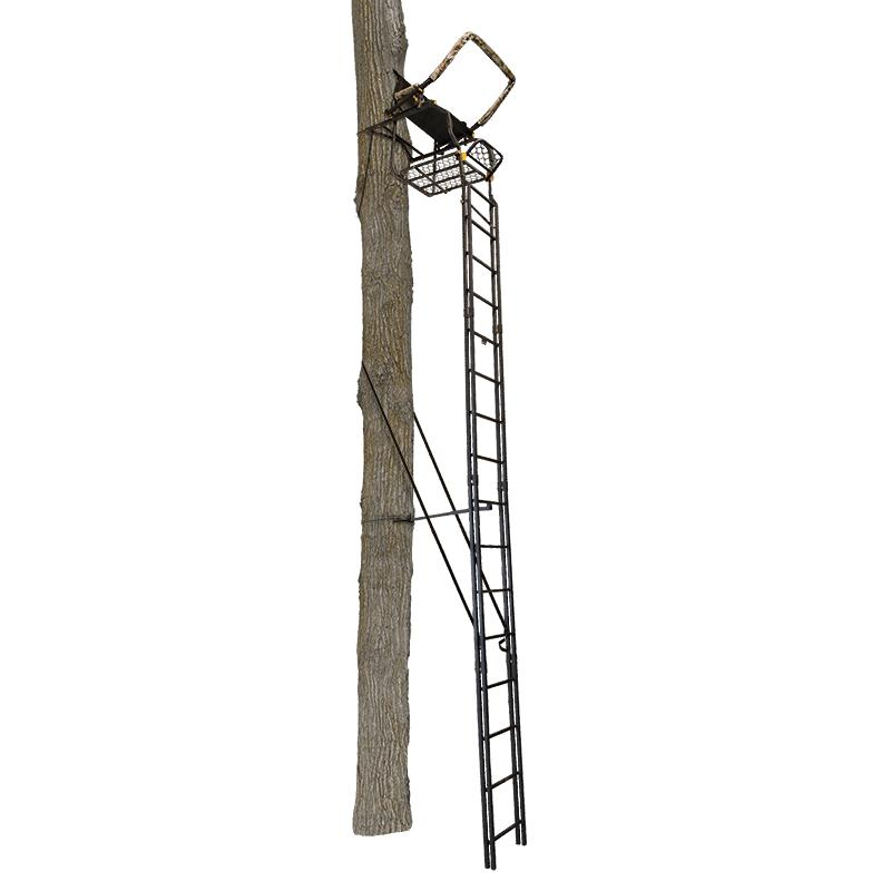 Muddy Outdoors The Skybox Deluxe Ladderstand Msl1550