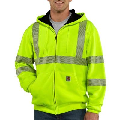 HIGH VIS ZIP FRONT CLASS 3 THERMAL LINED