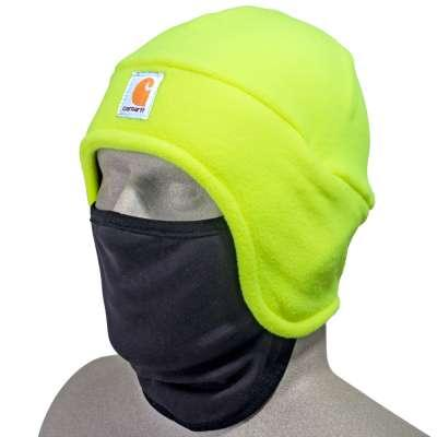 FLEECE BEANIE WITH FACE MASK