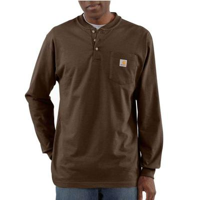 LONG SLEEVE POCKET HENLEY