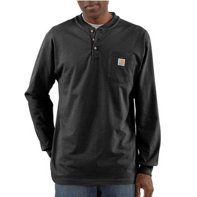3 BUTTON HENLEY LONG SLEEVE