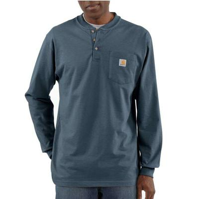 3 BUTTON LONG SLEEVE HENLEY